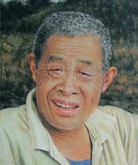 北京非鱼墙绘油画人物